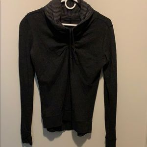 Size 6 cowl neck pullover from Lululemon